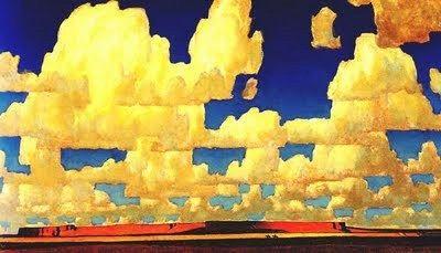 Maynard Dixon (1875-1946) Cool Clouds