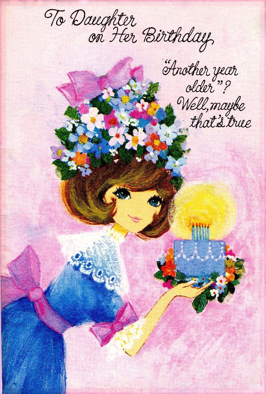 Birthday Greeting Daughter Forgetmenot Happy Birthday To You