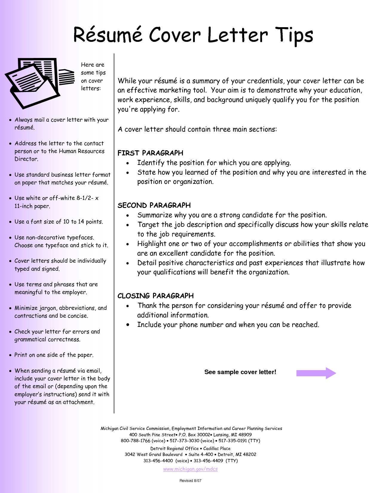 CV Cover Letter Examples http//www.resumecareer.info/cv