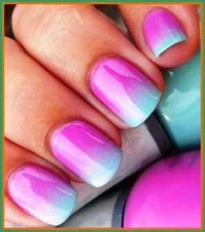 how to do gel nails at home  kids nail designs ombre