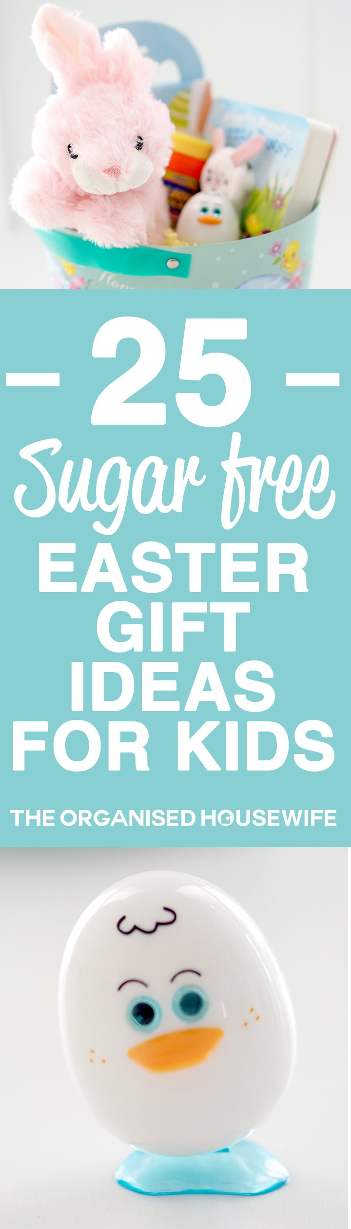 25 sugar free easter gift ideas for kids sugar free easter 25 sugar free easter gift ideas for kids the organised housewife negle Choice Image