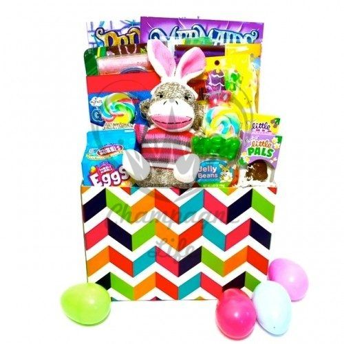 The girls crafty easter basket is available for same day delivery the girls crafty easter basket is available for same day delivery in las vegas nv the perfect easter gift with a variety of gourmet easter cand negle Images