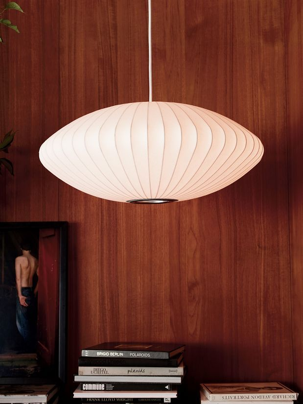 Nelson Saucer Bubble Pendant Design Within Reach In 2020 George Nelson Bubble Lamp Nelson Saucer Pendant Nelson Bubble Lamp
