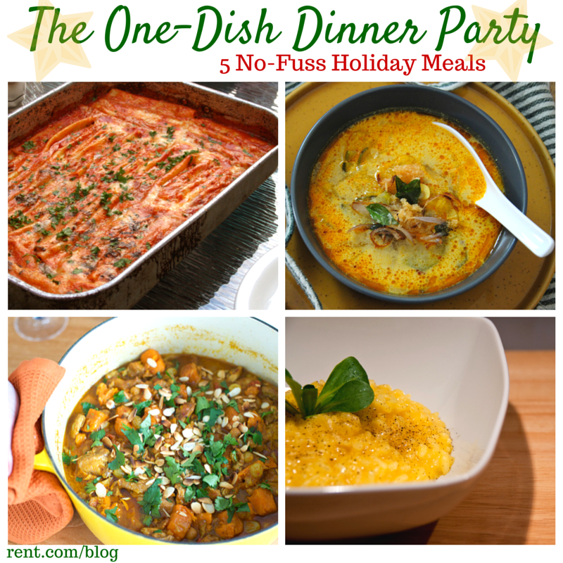 The one dish dinner party dishes recipes party planning and dishes the one dish dinner party forumfinder Images