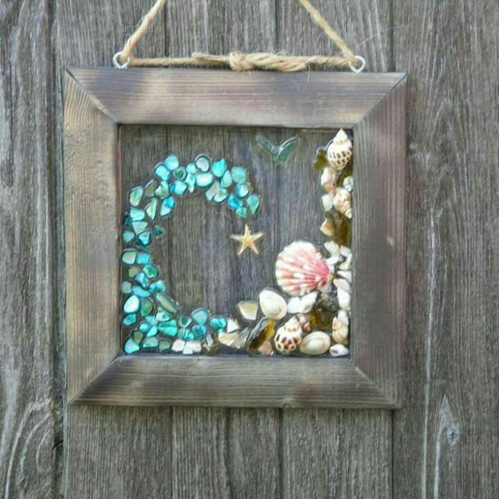 pin by carrie hilbert on decorating pinterest shell shell art