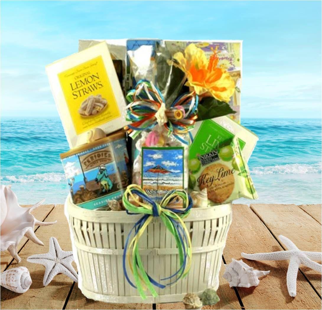 Destin Florida Seaside Gift Basket Beach Valentine S Day Baskets Gifts