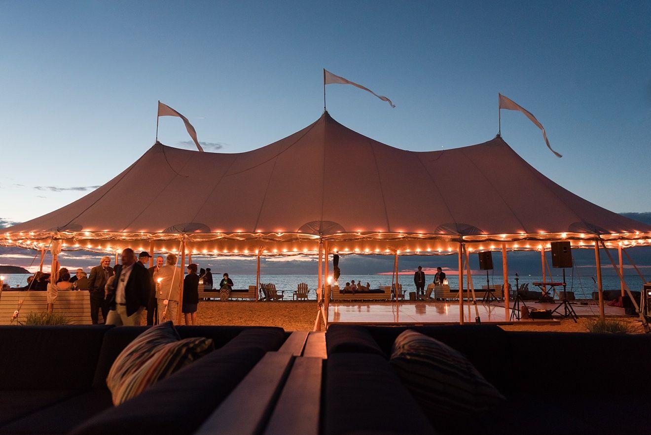 Hamptons Beach Wedding In Montauk At Navy Photo