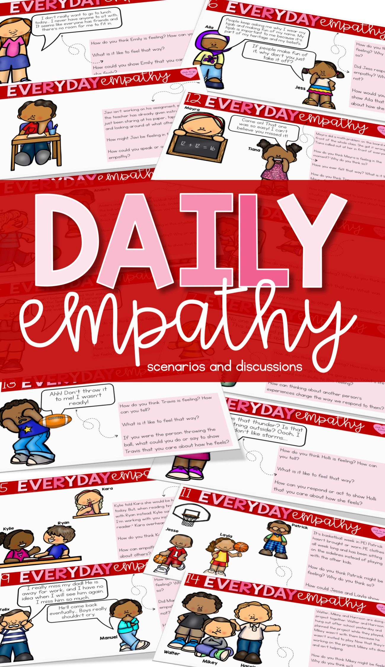 Empathy Activities Empathy Lessons Daily Digital