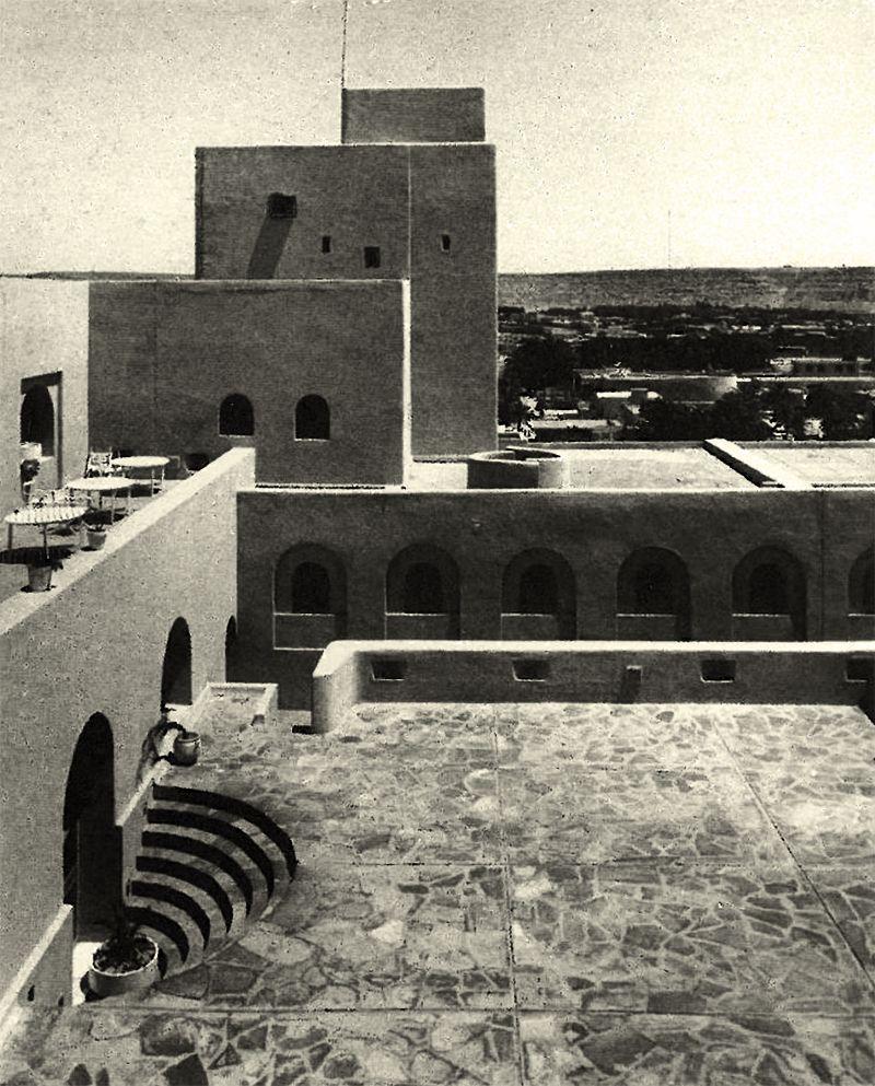 Hotel M Zab Ex Rostemides Ghardaia Algeria 1970 71 Fernand