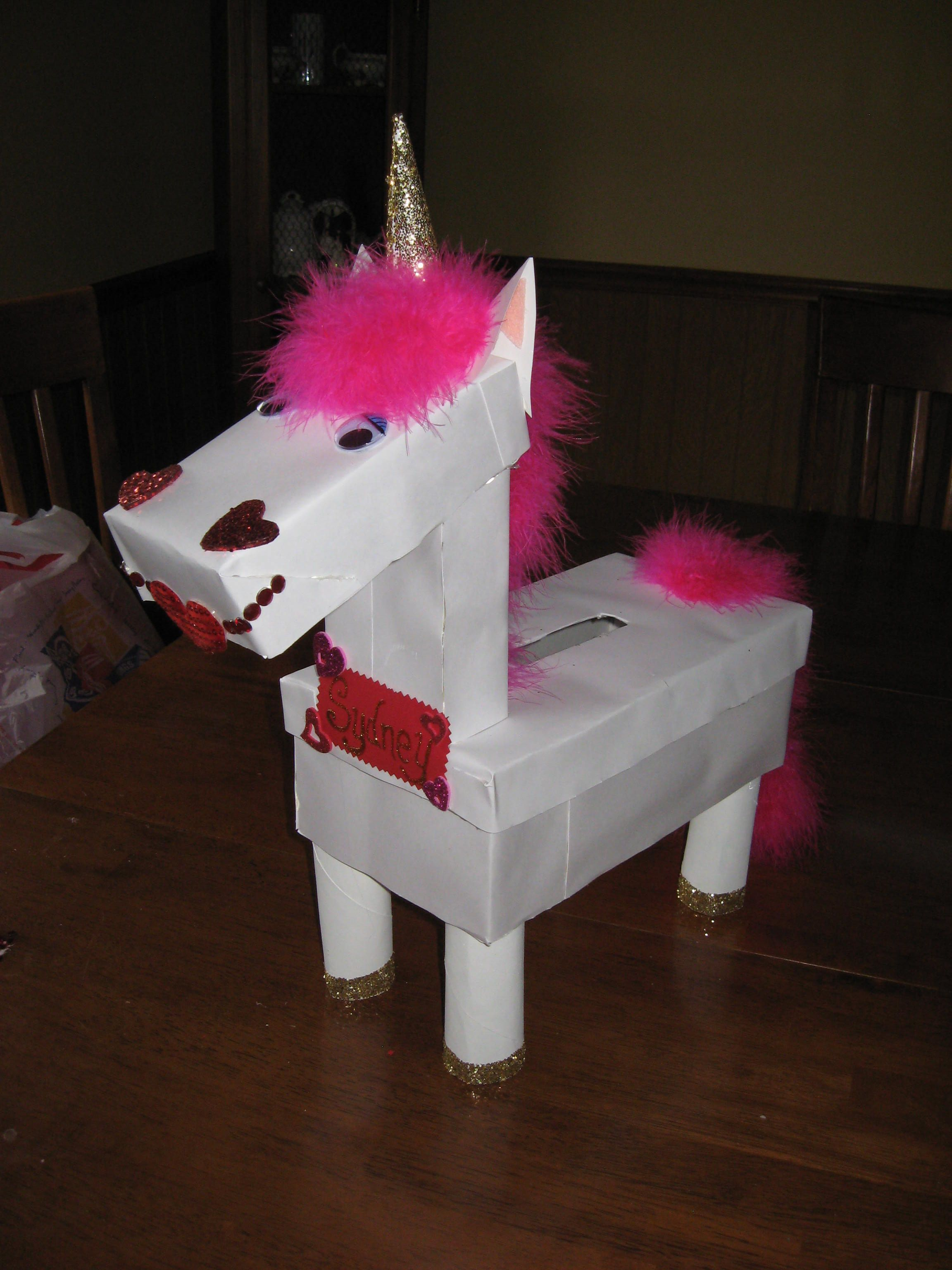 horse valentine's day box