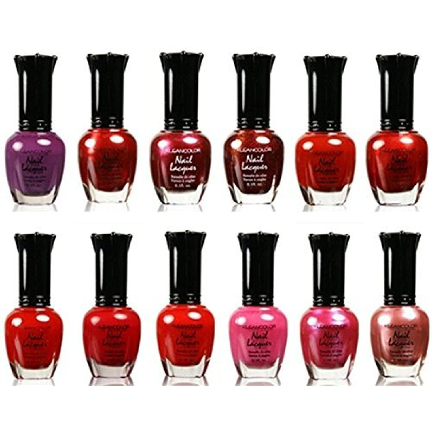 Kleancolor Nail Lacquer 12 Pieces (73 to 84) * More info could be ...