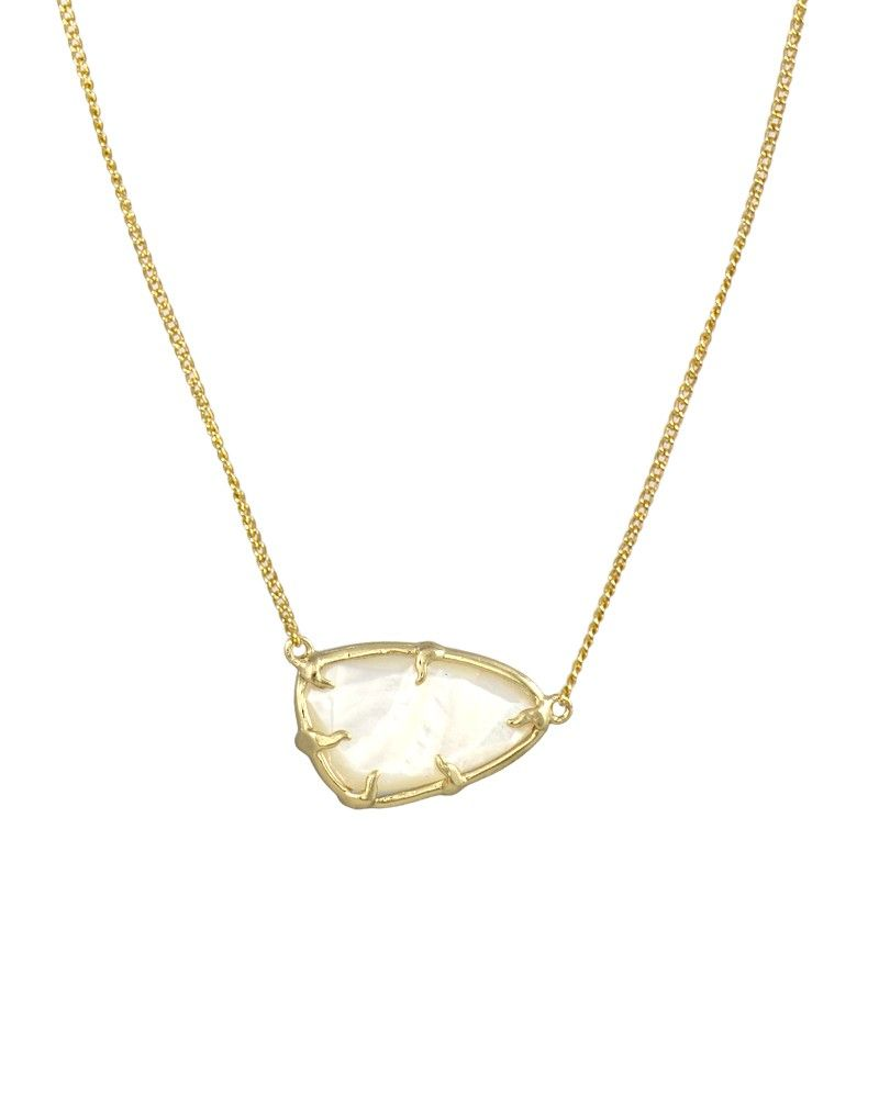 Noleen pendant necklace in ivory kendra scott jewelry dainty and