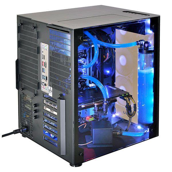 Lian Li Pc 08 Water Cooling Jpg 600 600 Pc Gehause Computer