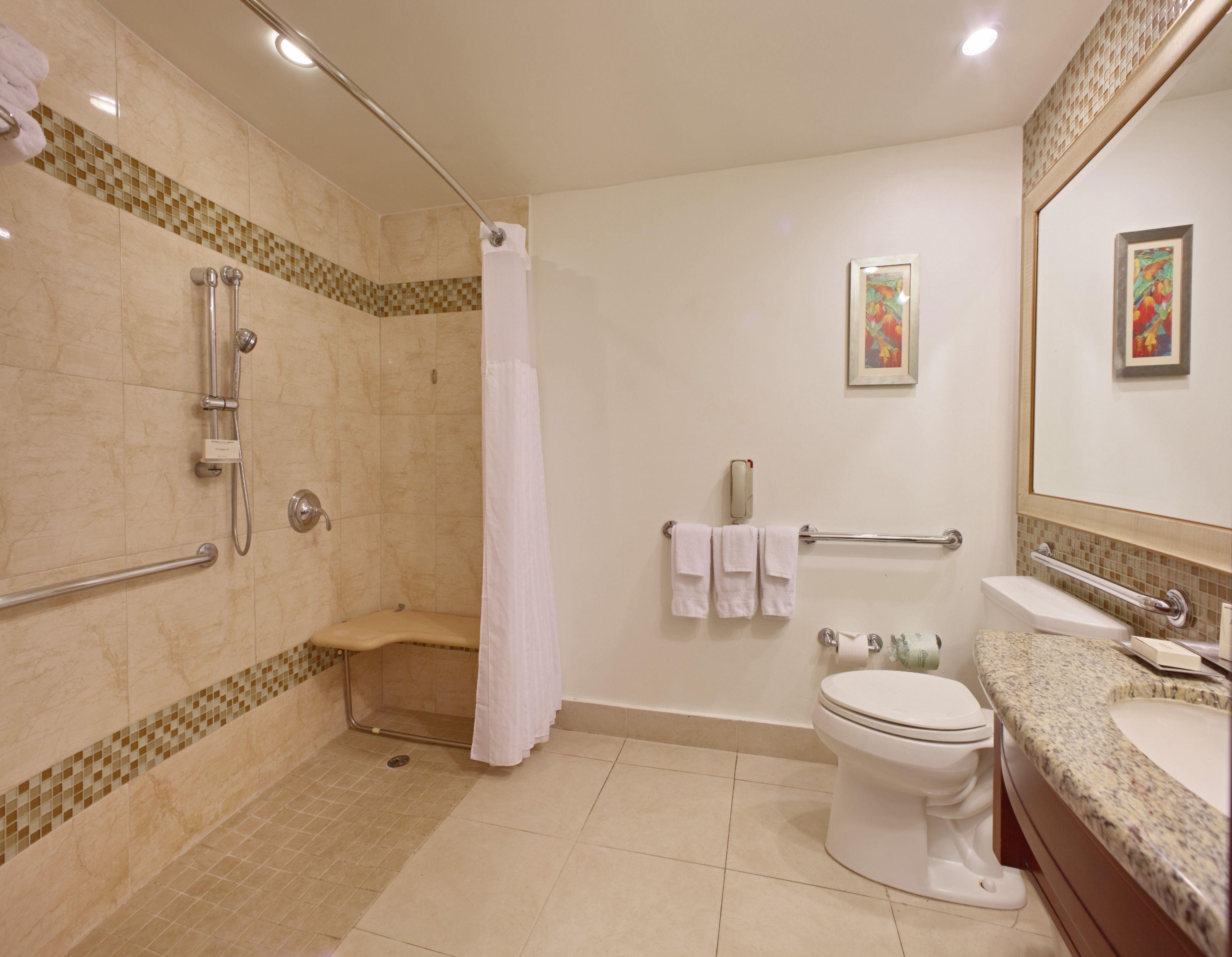 2 Seitig Dusche Stange Deckenhalterung Duschvorhang Stange