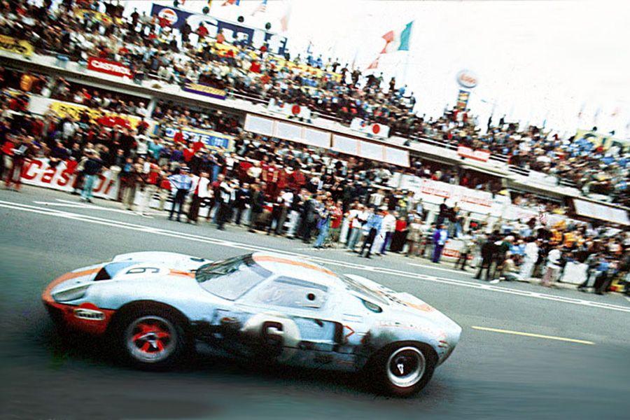 24 heures du mans 1969 ford gt40 6 pilotes jacky ickx jackie oliver 1er racing is. Black Bedroom Furniture Sets. Home Design Ideas