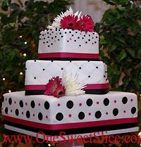 Daisy Wedding Cakes Picture