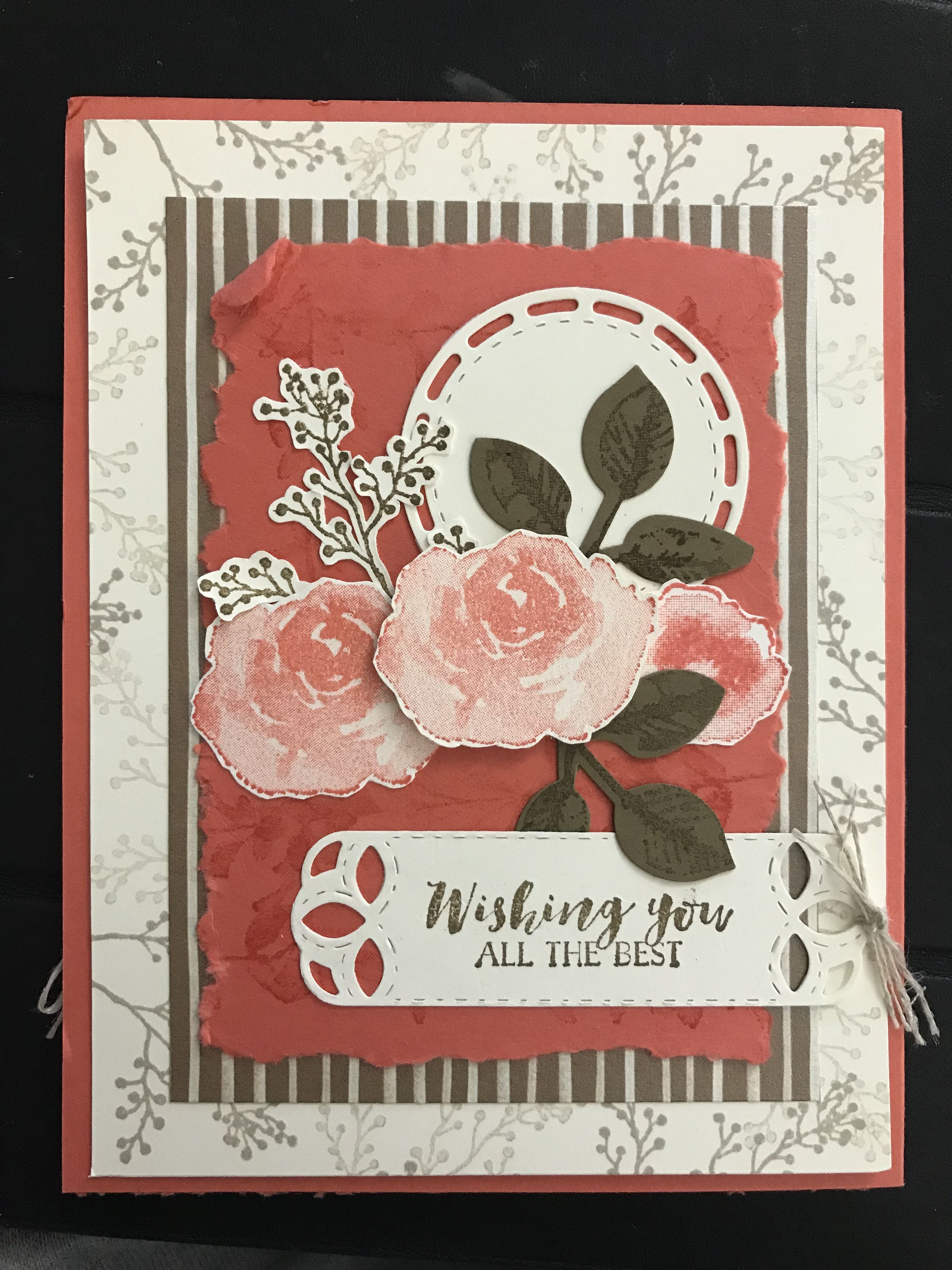 First frostStampin Up Stampin up christmas cards