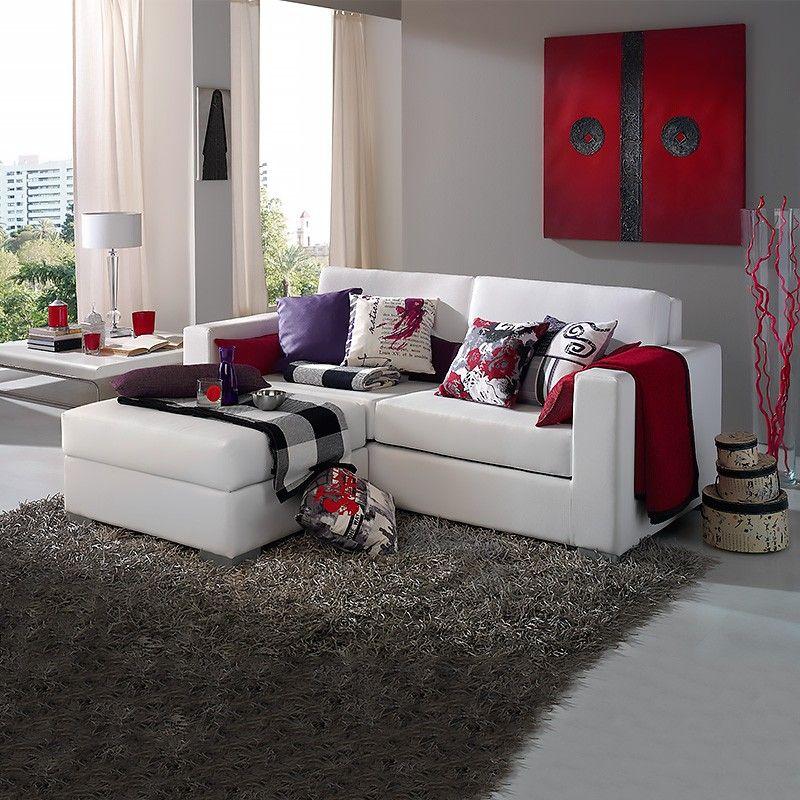 Sofa chaise longue lisboa decomobi living pinterest sof chaise sof y mesas centro salon - Chaise longue de salon ...