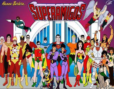 Los Superamigos (recordando los 80s) ~ atormentado74