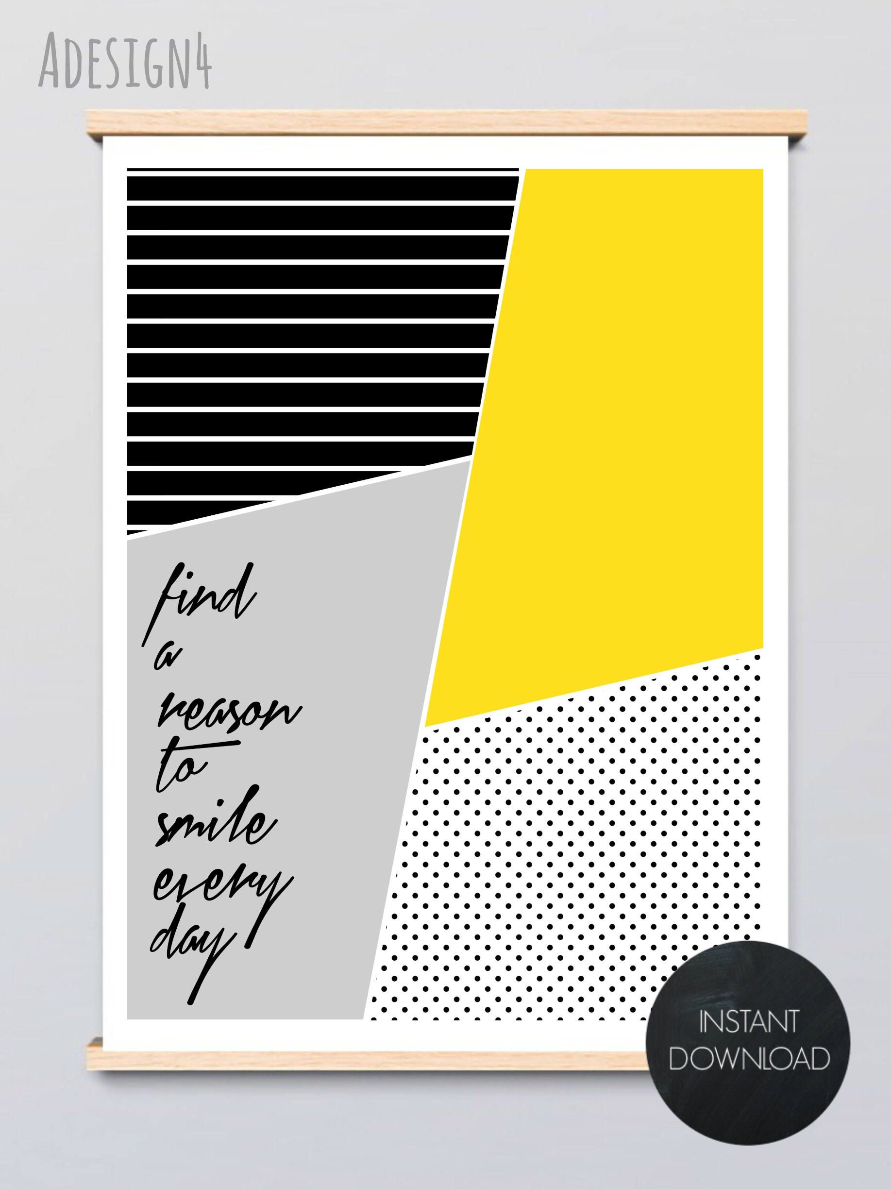 Printable Positive, Inspirational, Motivational Quotes - Smile Every ...
