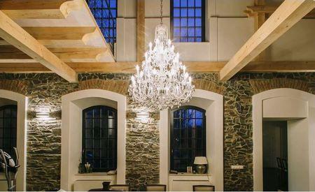 Lampade Cristallo Di Boemia : I tradizionali lampadari e luci di cristallo di boemia interni