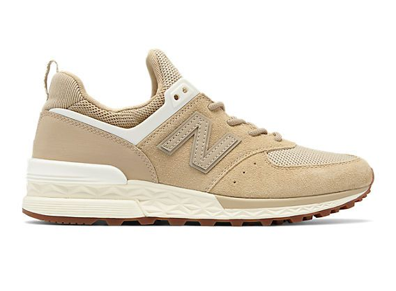 new balance beige mujer 574