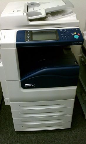 Lot of 7 Xerox WC7120 - Copy, Print, Scan, Fax, Finisher For