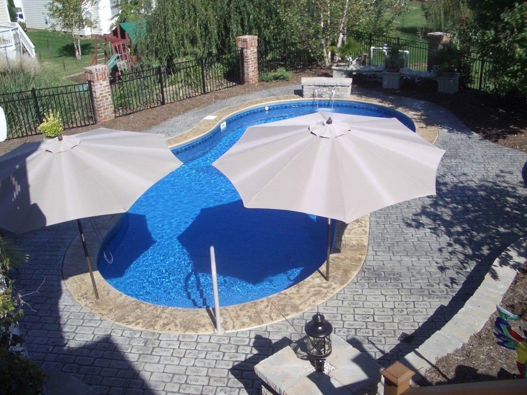Swimming Pool Accessories | Vinyl In-Ground Swimming Pool Design ...