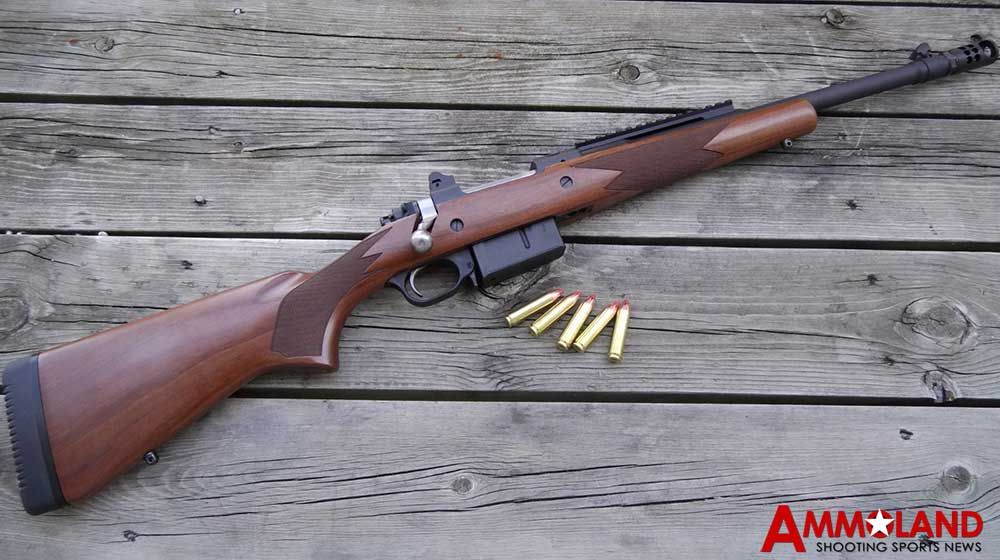 Ruger Gunsite Scout Rifle in 450 Bushmaster | armoury