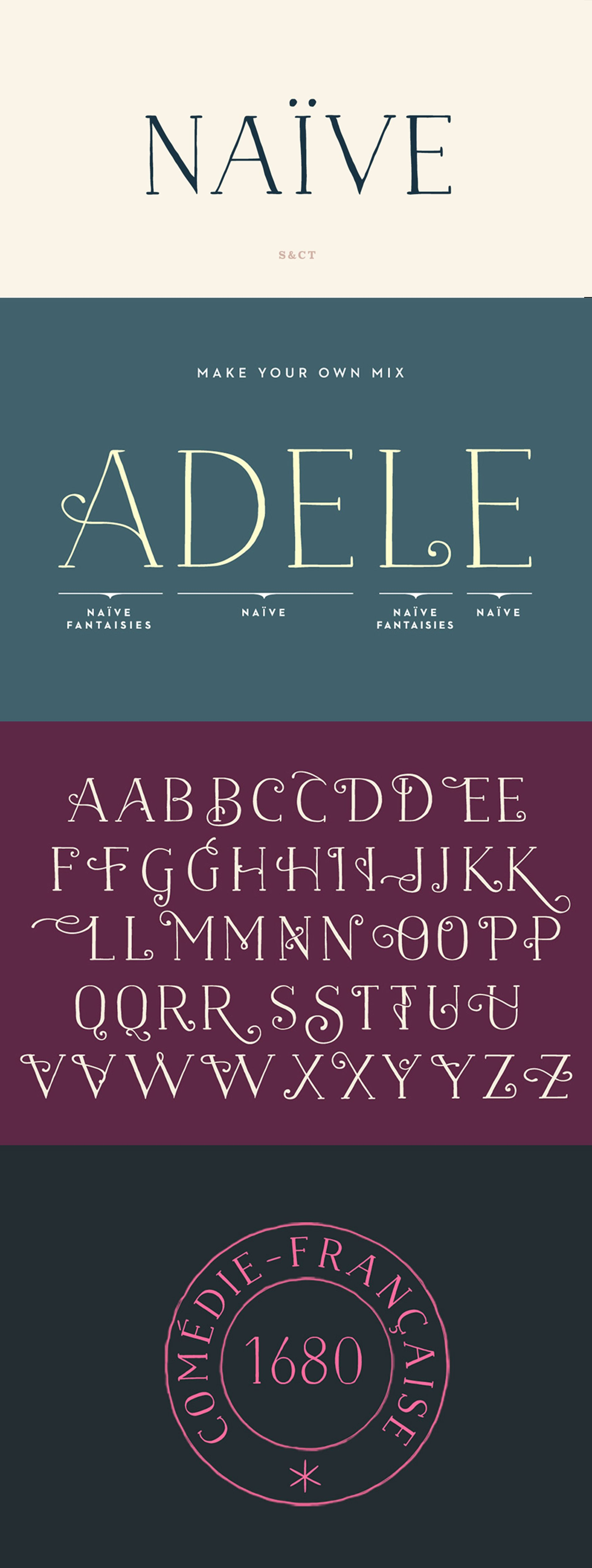 Download Naive Font Pack (With images)   Lettering, Handwritten ...