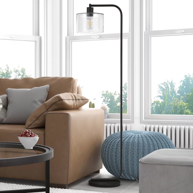 Enrique 57 Arched Arc Floor Lamp In 2020 Floor Lamps Living Room Farmhouse Floor Lamps Rustic Floor Lamps #rustic #floor #lamps #for #living #room