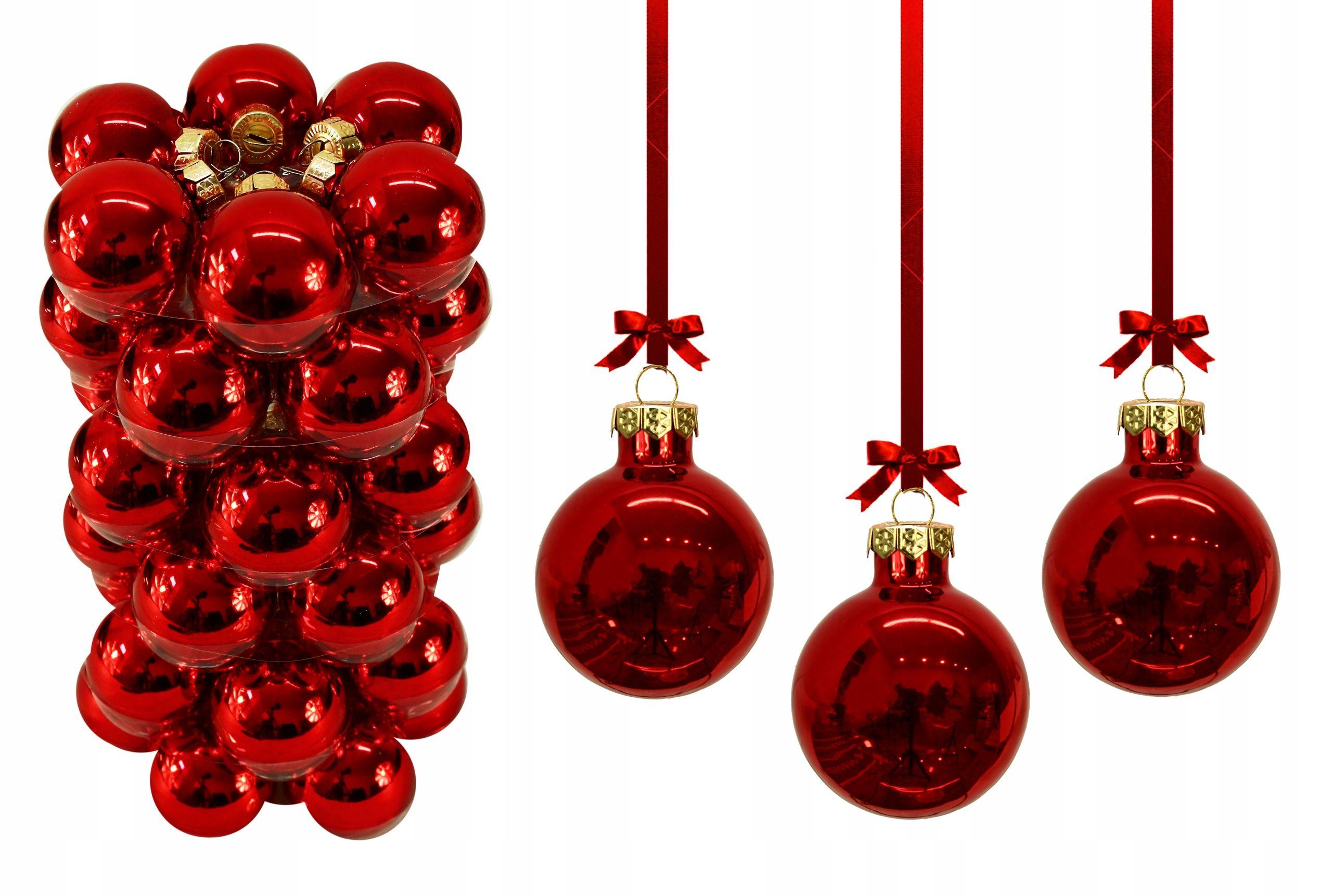 Bombki Swieta Choinka Ozdoby 4cm Zestaw 36szt 7570222062 Oficjalne Archiwum Allegro Christmas Ornaments Holiday Decor Novelty Christmas