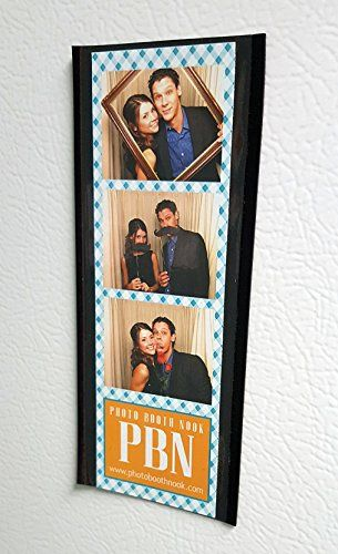 50 Black Magnetic Photo Booth Frames For 2x6 Photo Strips Photo