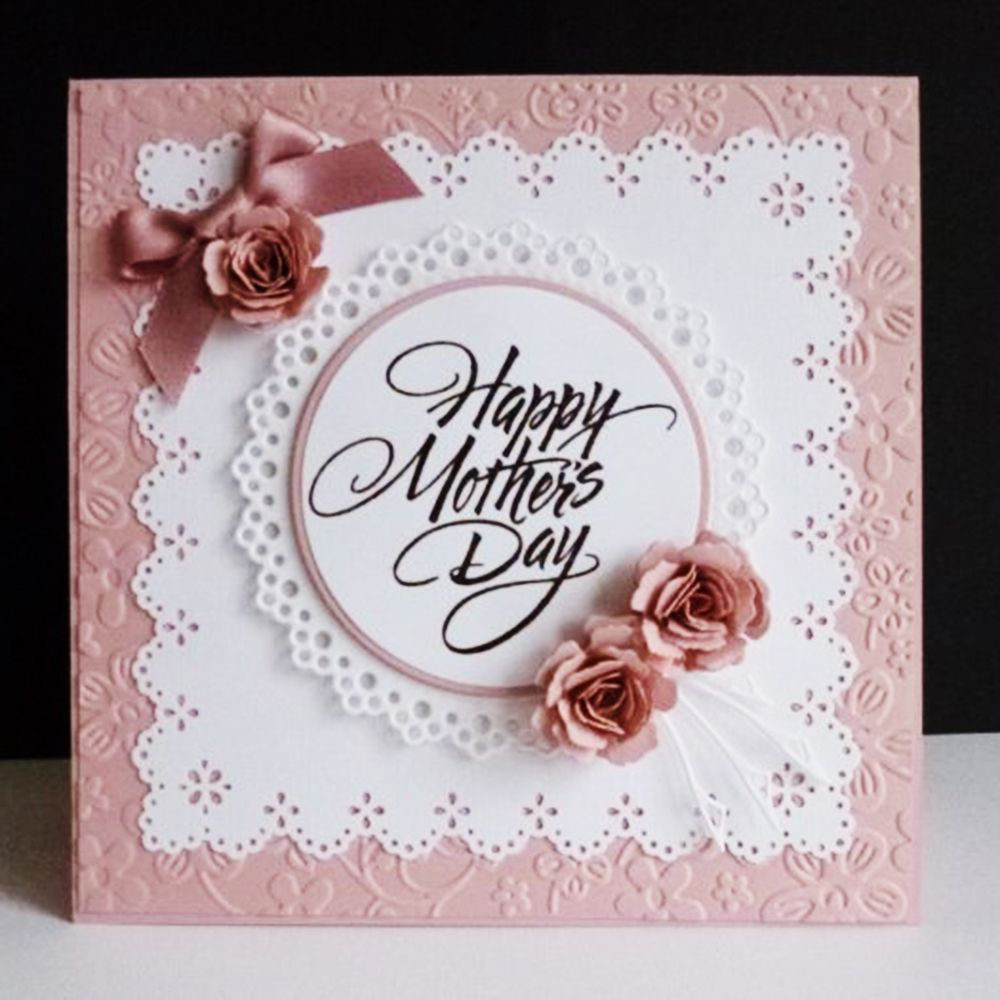 $1.0 AUD - Mother's Day Metal Cutting Dies Dress ...