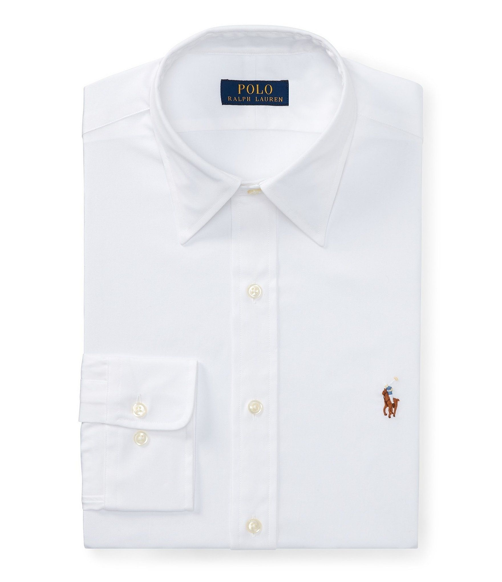 Polo Ralph Lauren ClassicFit Point Collar Solid Oxford Dress Shirt  Dillard   polo Ralph Lauren ClassicFit Point Collar Solid Oxford Dress Shirt   Dillards a37998b1a31da