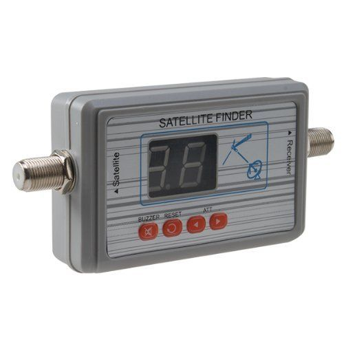 AGPtek® Digital Satellite Signal Finder Meter for Dish