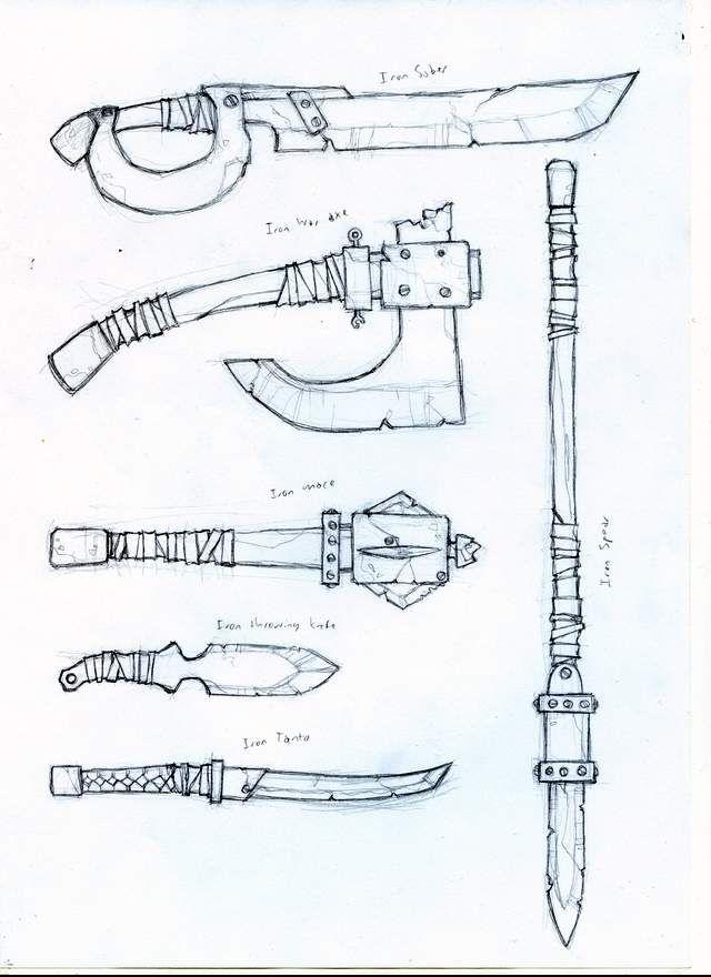 Mod Concepts Iron2 weap by DawidFrederik