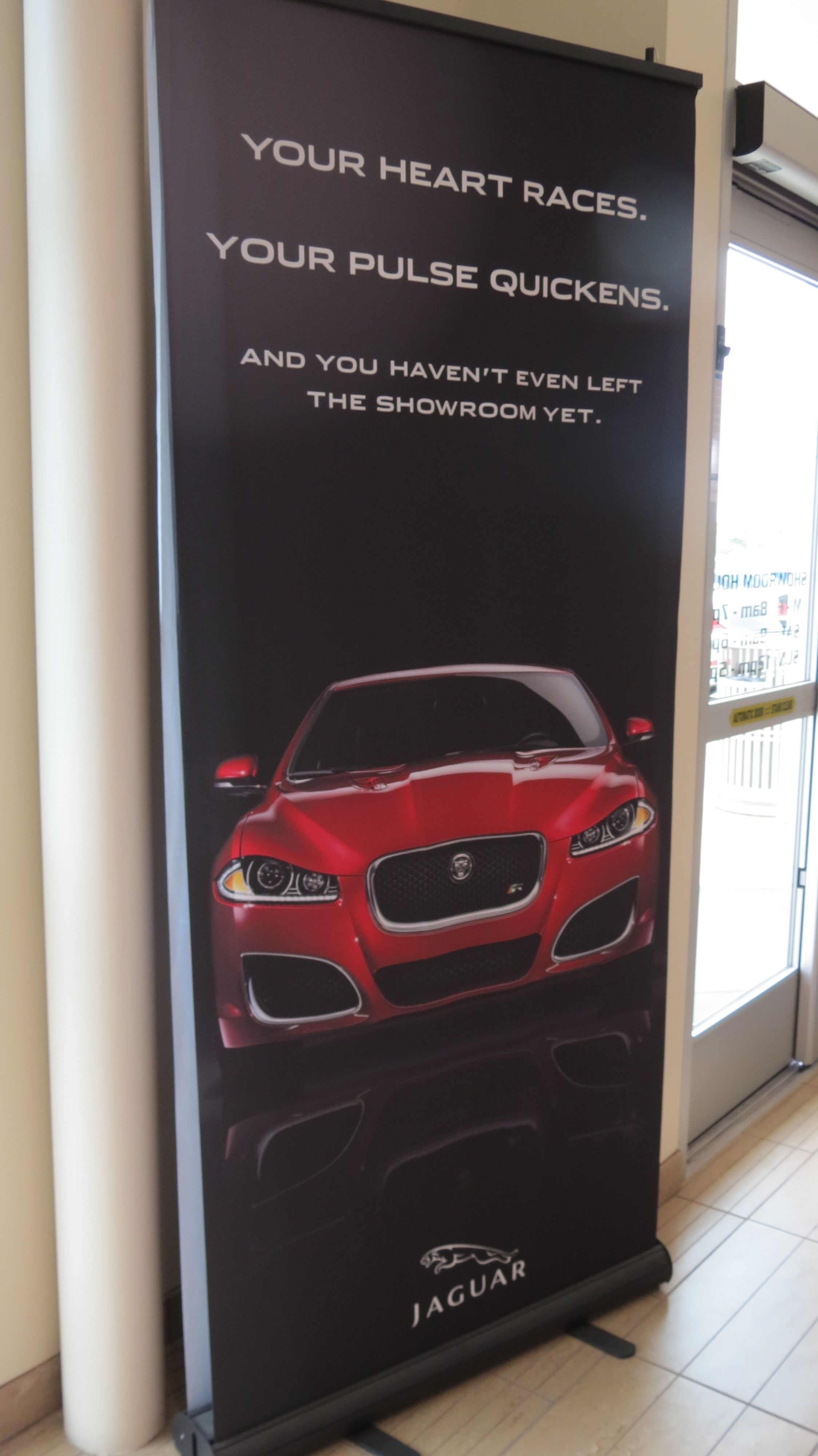 #Jaguar North #Scottsdale. Side Effects Of Our #showroom #FTYPE