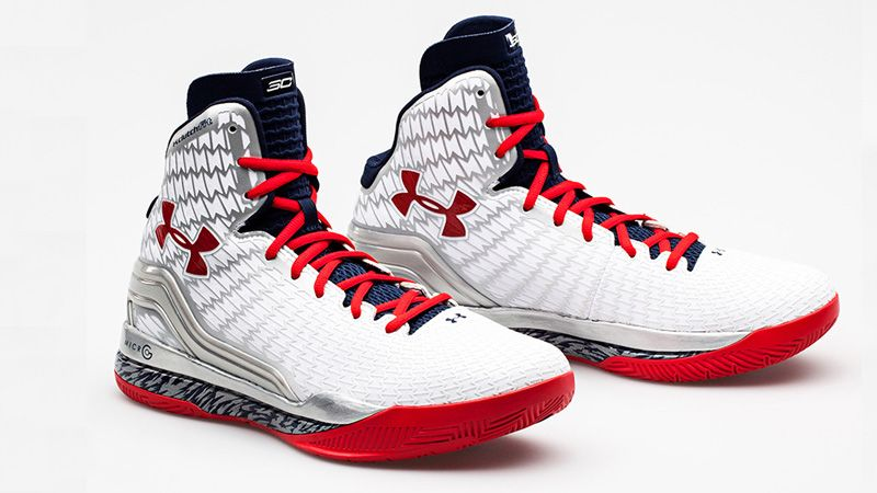 promo code 4f50b 9bd54 ... Black History Month Steph Curry 1 Shoes From Under Armour. Under Armour  ClutchFit Drive – Stephen Curry  USA  PE s - White
