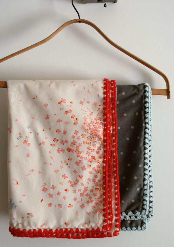 Laura\'s Loop: Receiving Blankets - Knitting Crochet Sewing Crafts ...