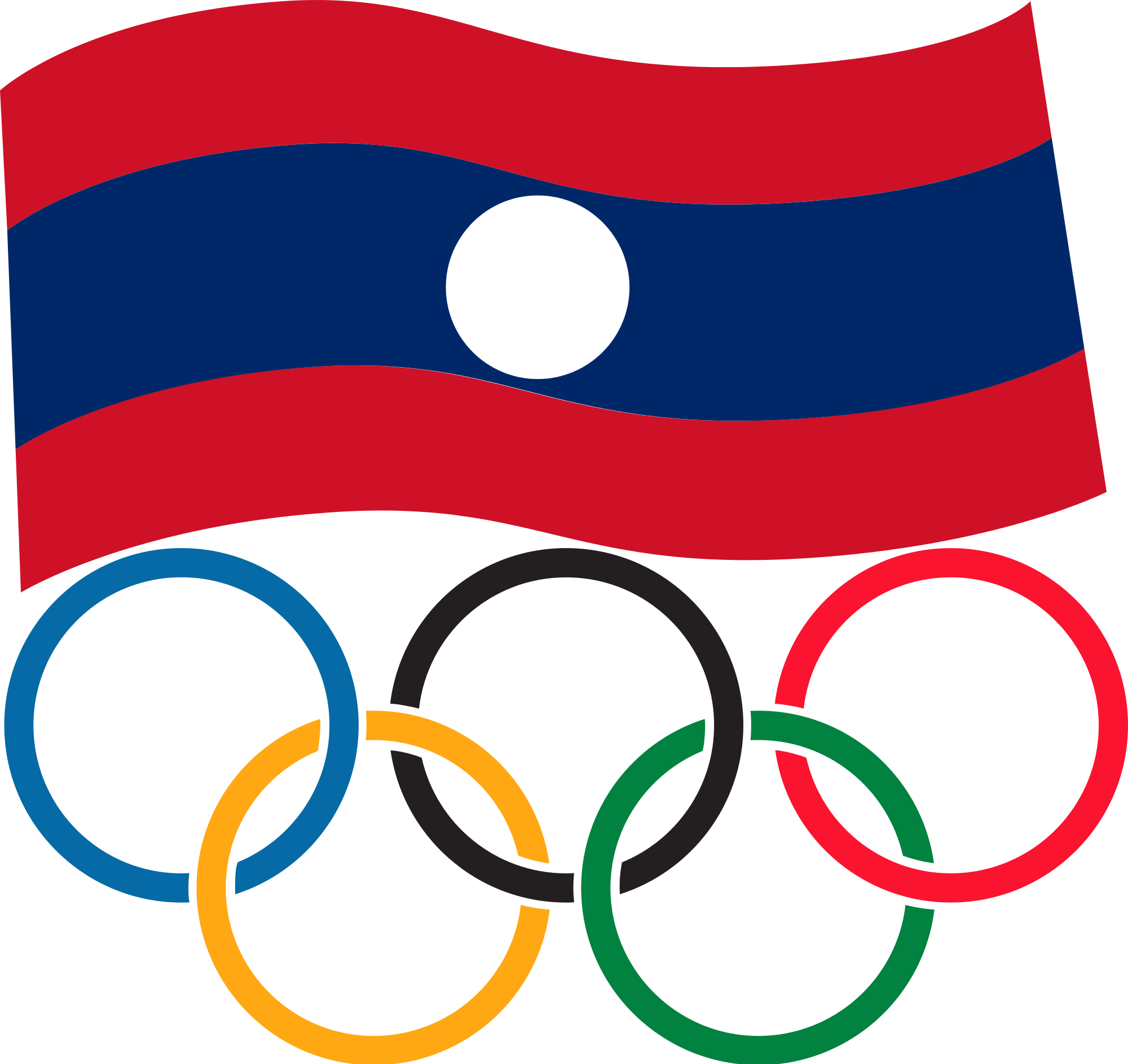 Olympic rings logo rio 2016 olympics logo designed by fred gelli - National Olympic Committee Of Lao