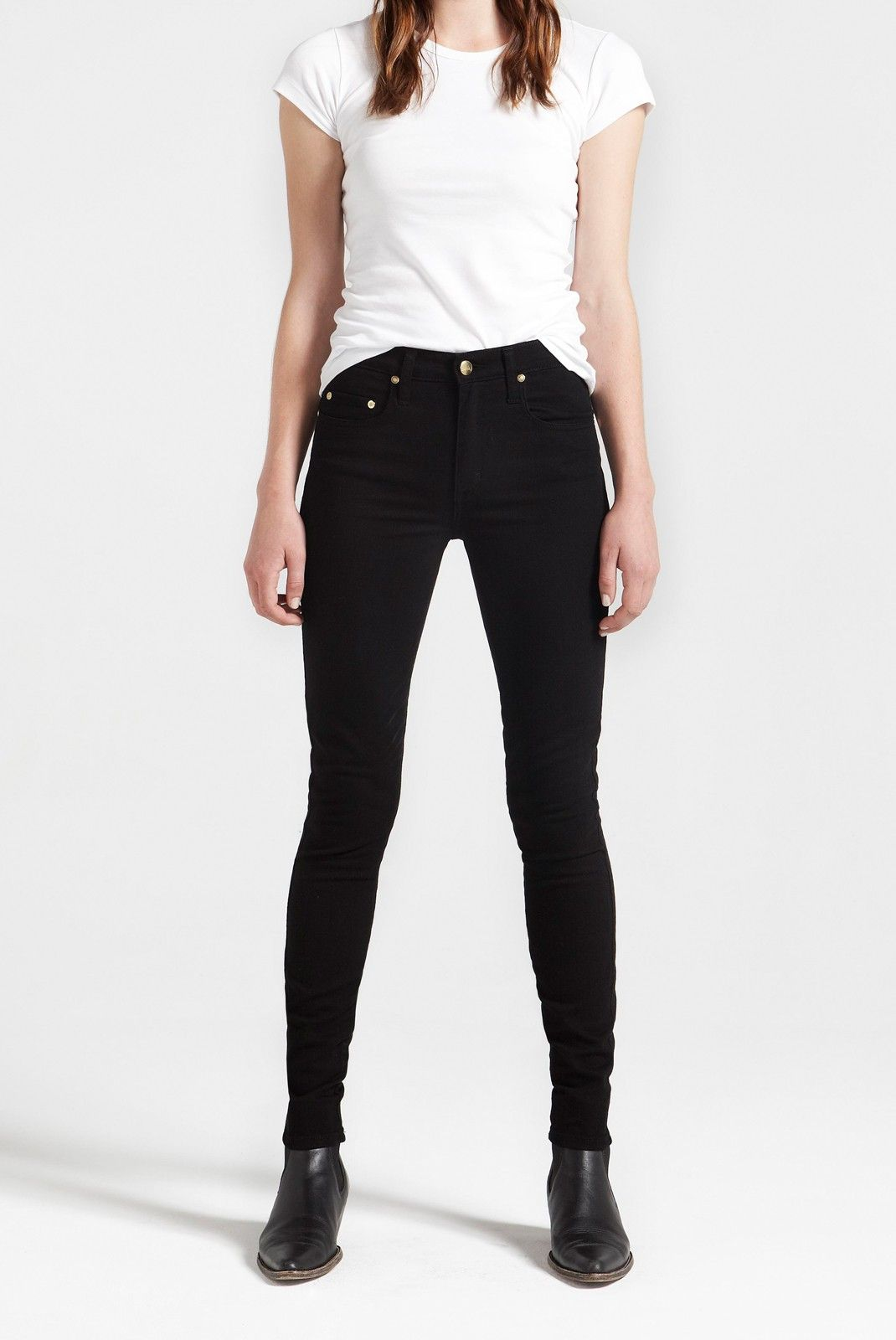 need a new pair of black skinnies for Winter - these are the perfect pair! Cult Skinny in Black by Nobody.