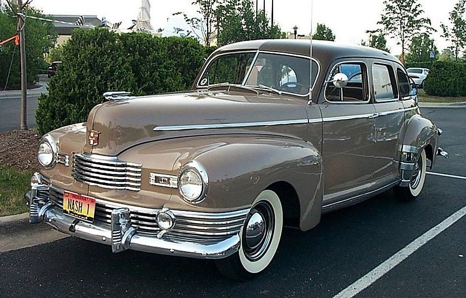 1947 Nash Ambassador 4-door sedan