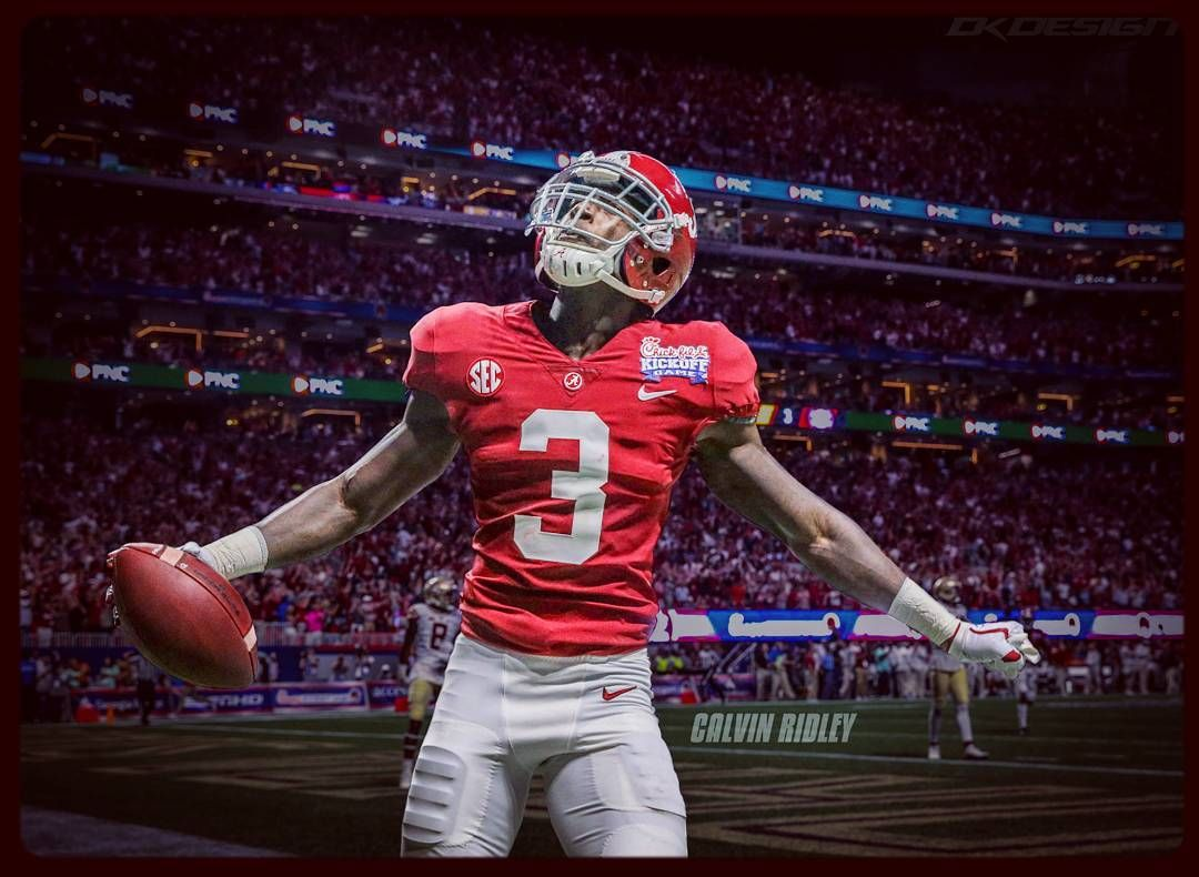 Calvin Ridley 3 Of The Alabama Crimson Tide Alabama Football Alabama Crimson Tide Alabama Crimson