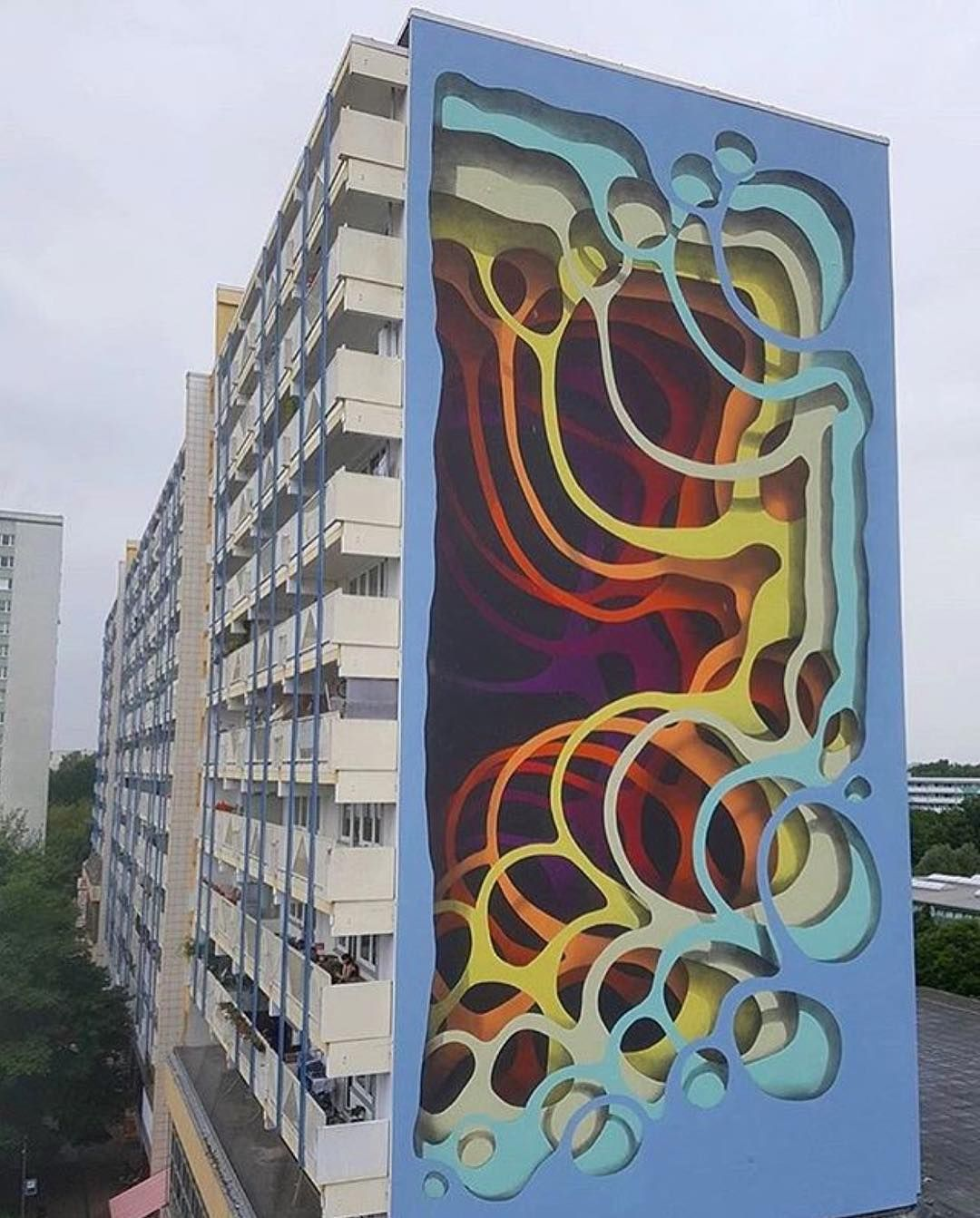 New Mural From 1010 1010zzz In Berlin Germany Look For 1010