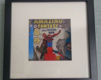 Spiderman Superhero Wall Art - Unique - Retro - Geekery #EasyNip