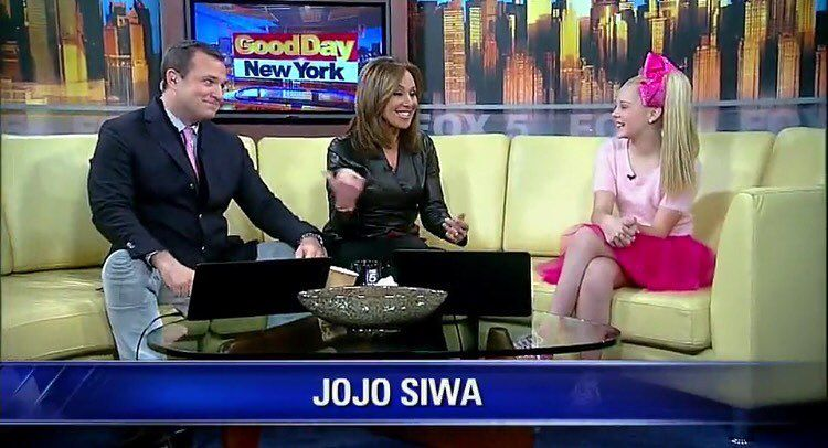 """""""JoJo was on Good Day New York earlier this week! You can watch her interview on the fox5ny.com • #dancemoms #dancemoms1 #spoilers #dmos_siwa"""""""