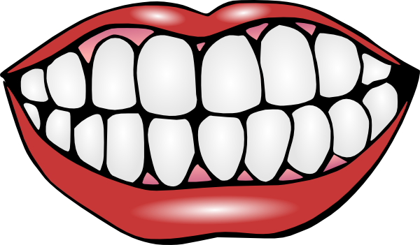 mouth template for preschool - cartoon mouth clip art free mouth and teeth clip art