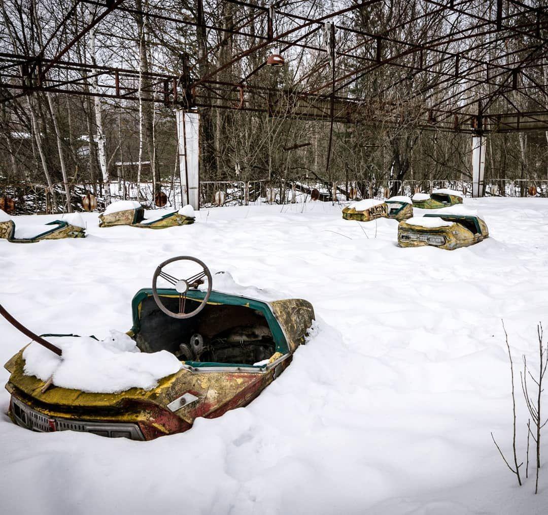 Pripyat Amusement Park. @chernobyl_catastrophe_of_time