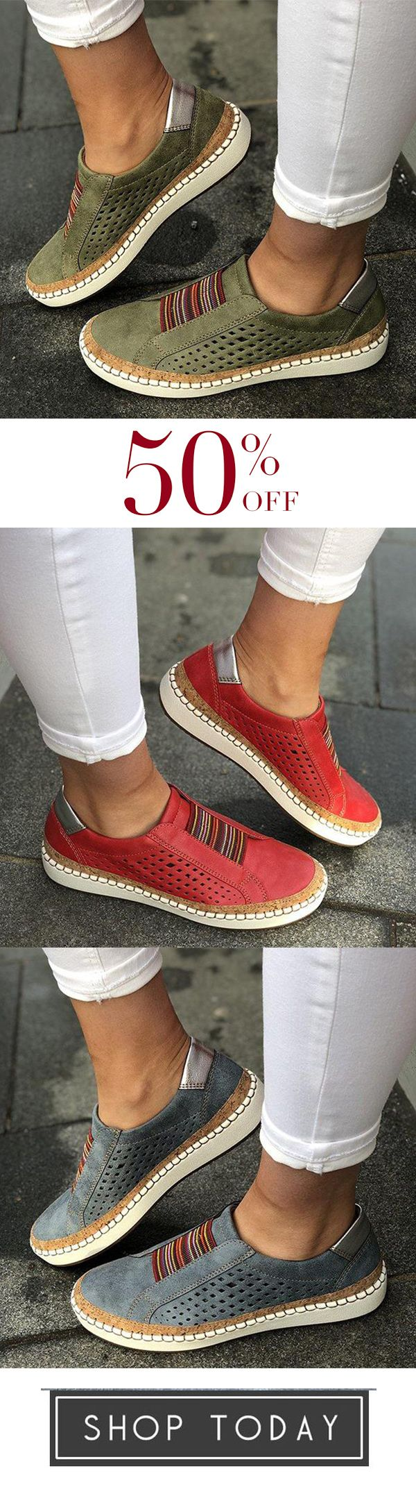 Photo of Comfortable Flat Bottom Breathable Shoes